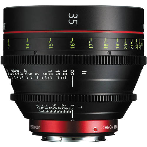 Canon CN-E 35mm T1.5 EF mount