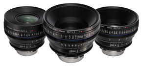 Zeiss CP.2 Super Speed Set 35mm, 50mm, 85mm T1.5 met Canon EF mount