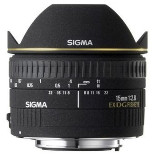 Sigma 15mm f/2.8 fisheye (Nikon)