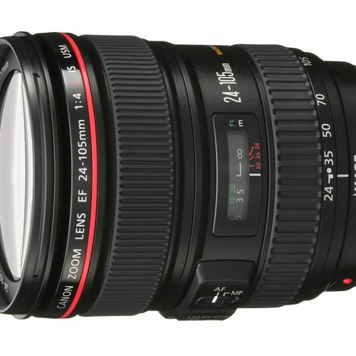 Canon EF 24-105/4.0L zoom lens IS