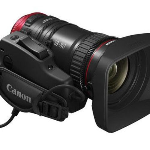 Canon CN-E 18-80mm T4.4 Cinema Zoom