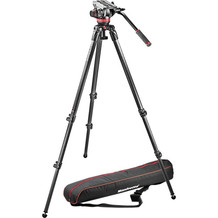 Manfrotto MVH 502A + 535 CF Tripod System