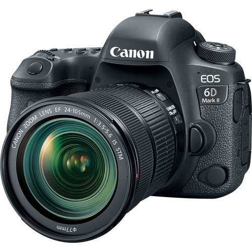 Canon EOS 6D II incl. 24-105mm f/3.5-5.6 IS STM lens