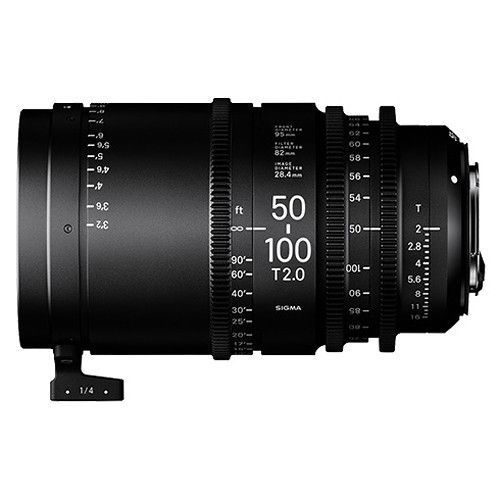 Sigma 50-100mm T2 Cine High-Speed Zoom (Canon EF)