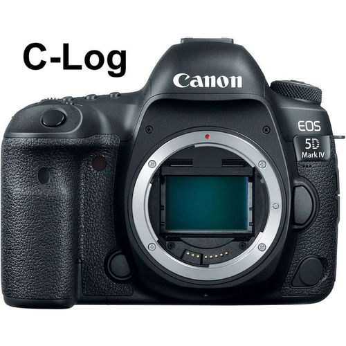 Canon EOS 5D Mark IV C-Log 4K body