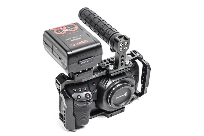 Blackmagic Pocket Cinema Camera 4K - V-Lock set - Koffer