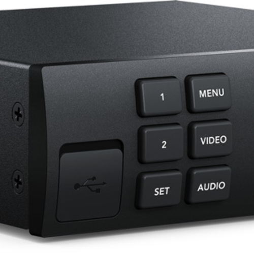 Blackmagic Web Presenter + Teranex Smart Panel Live Stream Switcher