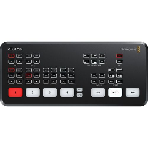 Blackmagic ATEM Mini Live Stream Switcher