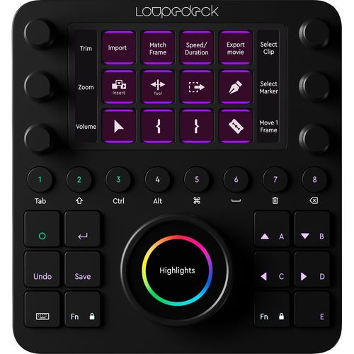 Loupedeck CT Photo and Video Editing Console