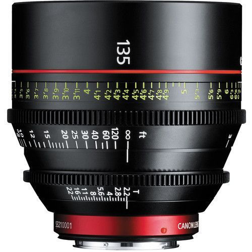 Canon CN-E 135mm T2.2 EF mount