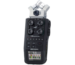 Zoom H6 audio recorder