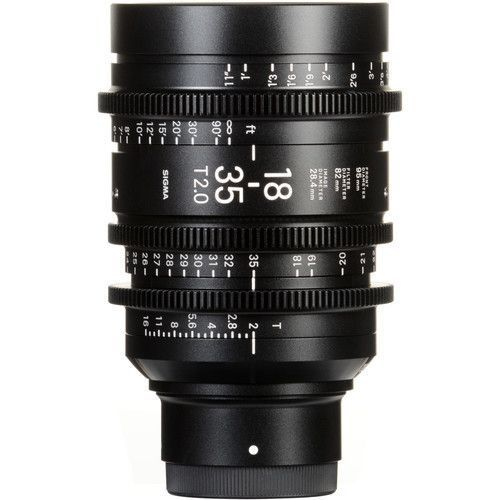 Sigma 18-35mm T2 Cine High-Speed Zoom (Sony E-mount)